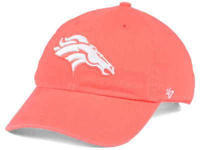 Denver Broncos '47 NFL Women's Pastel CLEAN UP Cap