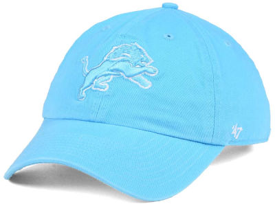 Detroit Lions '47 NFL Women's Pastel CLEAN UP Cap