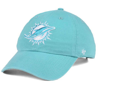 Miami Dolphins '47 NFL Women's Pastel CLEAN UP Cap