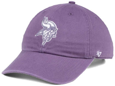 Minnesota Vikings '47 NFL Women's Pastel CLEAN UP Cap