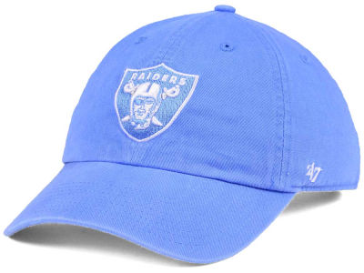 Oakland Raiders '47 NFL Women's Pastel CLEAN UP Cap