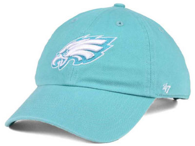 Philadelphia Eagles '47 NFL Women's Pastel CLEAN UP Cap