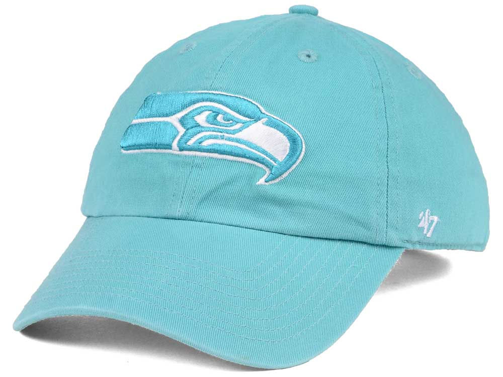 b3cfdb1c2 Seattle Seahawks  47 NFL Women s Pastel CLEAN UP Cap