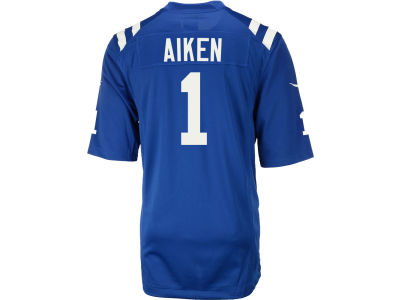 Indianapolis Colts Kamar Aiken NFL Men's Game Jersey