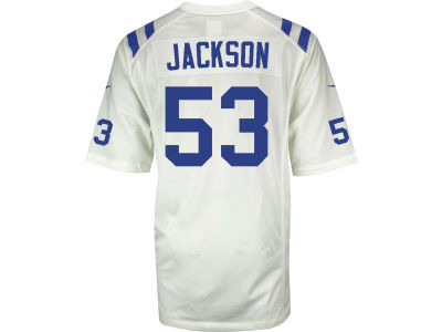 Indianapolis Colts Edwin Jackson NFL Youth Game Jersey