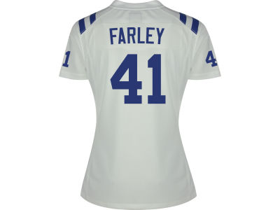 super popular 0d120 b7932 Matthias Farley Indianapolis Colts Nike NFL Women's Game ...