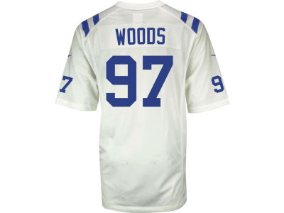 Indianapolis Colts Al Woods NFL Youth Game Jersey