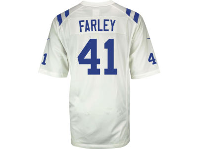 Indianapolis Colts Matthias Farley NFL Youth Game Jersey