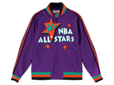 NBA All Star Mitchell & Ness NBA Men's 1995 All Star Warm Up Jacket