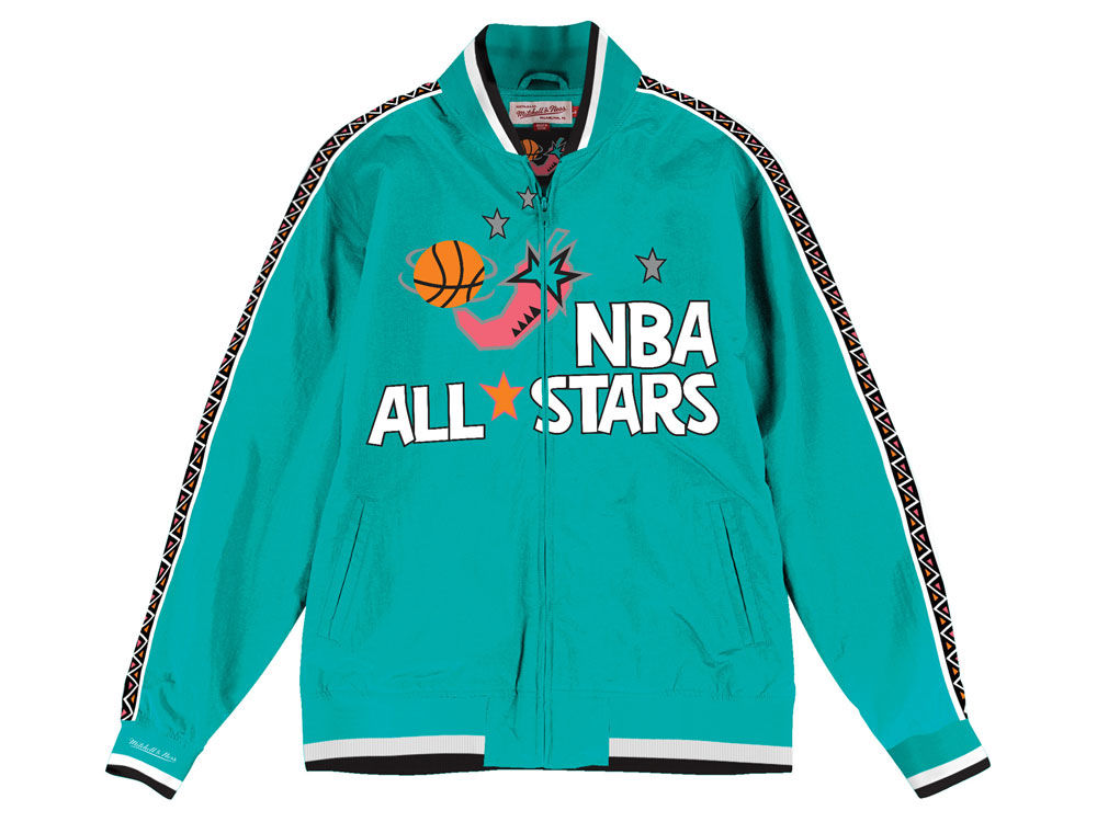 24d937046 NBA Logo Mitchell   Ness NBA Men s 1996 All Star Warm Up Jacket ...