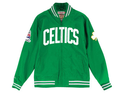 Boston Celtics NBA Men's Team History Warm Up Jacket