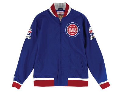 Detroit Pistons NBA Men's Team History Warm Up Jacket