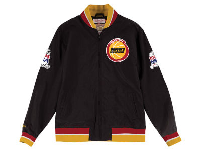 Houston Rockets NBA Men's Team History Warm Up Jacket