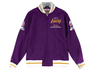 Los Angeles Lakers Mitchell & Ness NBA Men's Team History Warm Up Jacket