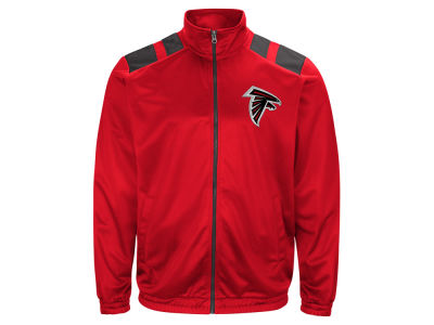 Atlanta Falcons G-III Sports NFL Men's Broad Jump Track Jacket