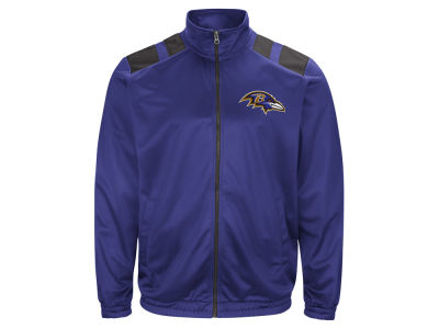 Baltimore Ravens G-III Sports NFL Men's Broad Jump Track Jacket