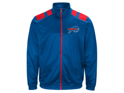 Buffalo Bills G-III Sports NFL Men's Broad Jump Track Jacket
