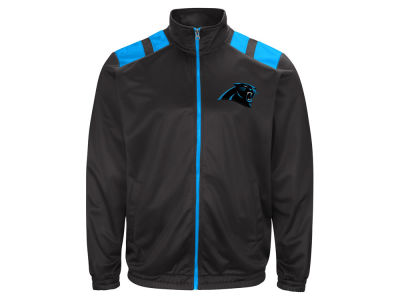 Carolina Panthers G-III Sports NFL Men's Broad Jump Track Jacket