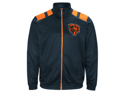 Chicago Bears G-III Sports NFL Men's Broad Jump Track Jacket