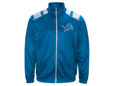Detroit Lions G-III Sports NFL Men's Broad Jump Track Jacket