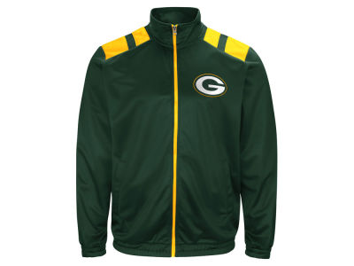 Green Bay Packers G-III Sports NFL Men's Broad Jump Track Jacket