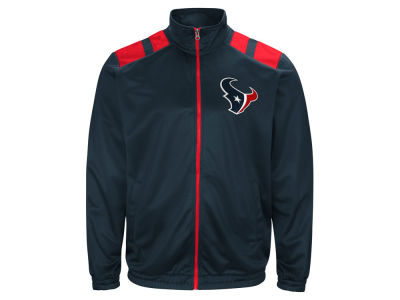 Houston Texans G-III Sports NFL Men's Broad Jump Track Jacket