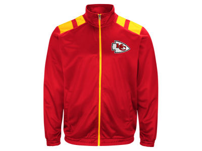 Kansas City Chiefs G-III Sports NFL Men's Broad Jump Track Jacket