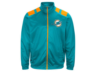 Miami Dolphins G-III Sports NFL Men's Broad Jump Track Jacket