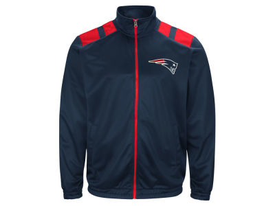 New England Patriots G-III Sports NFL Men's Broad Jump Track Jacket