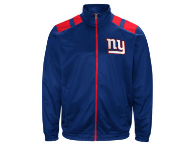 New York Giants G-III Sports NFL Men's Broad Jump Track Jacket