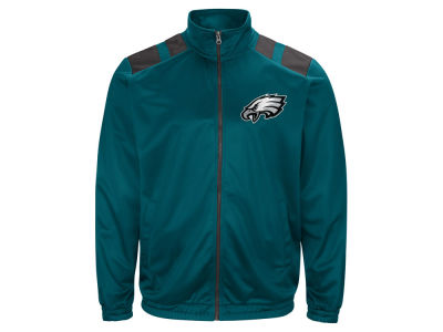 Philadelphia Eagles G-III Sports NFL Men's Broad Jump Track Jacket