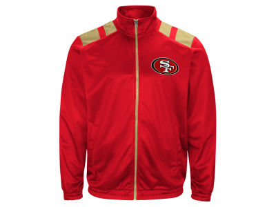 San Francisco 49ers G-III Sports NFL Men's Broad Jump Track Jacket
