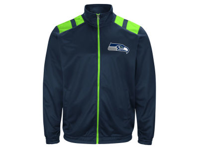 Seattle Seahawks G-III Sports NFL Men's Broad Jump Track Jacket