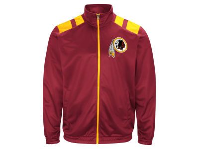 Washington Redskins G-III Sports NFL Men's Broad Jump Track Jacket