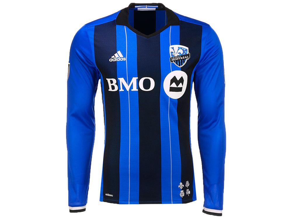 Montreal Impact adidas MLS Men s Authenic Jersey  2b081660137