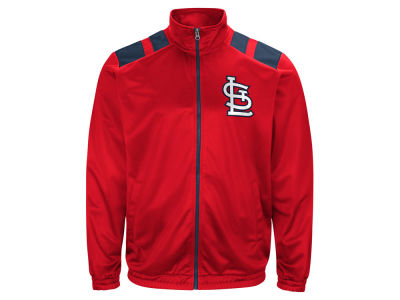 St. Louis Cardinals G-III Sports MLB Men's Broad Jump Track Jacket