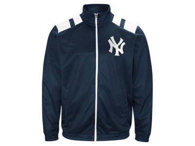 New York Yankees G-III Sports MLB Men's Broad Jump Track Jacket