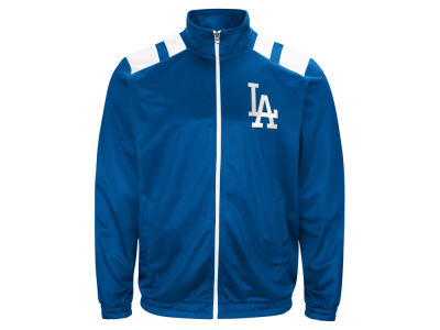 Los Angeles Dodgers G-III Sports MLB Men's Broad Jump Track Jacket