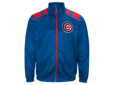 Chicago Cubs G-III Sports MLB Men's Broad Jump Track Jacket