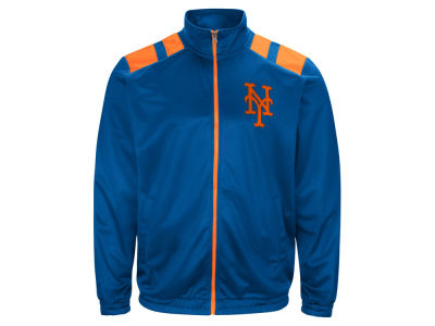 New York Mets G-III Sports MLB Men's Broad Jump Track Jacket
