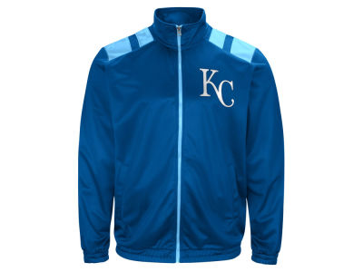 Kansas City Royals G-III Sports MLB Men's Broad Jump Track Jacket