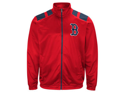 Boston Red Sox G-III Sports MLB Men's Broad Jump Track Jacket