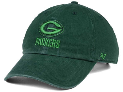 Green Bay Packers '47 NFL Triple Rush CLEAN UP Cap