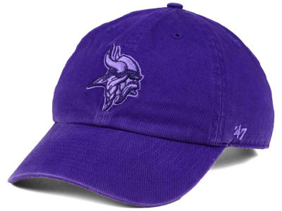 Minnesota Vikings '47 NFL Triple Rush CLEAN UP Cap