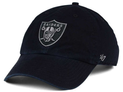 Oakland Raiders '47 NFL Triple Rush CLEAN UP Cap
