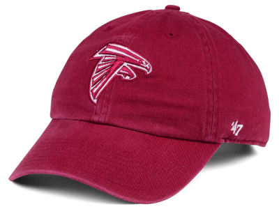 Atlanta Falcons '47 NFL Cardinal CLEAN UP Cap