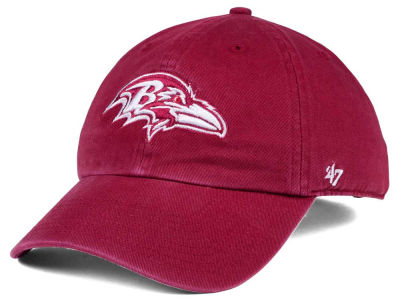 Baltimore Ravens '47 NFL Cardinal CLEAN UP Cap