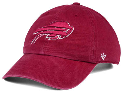 Buffalo Bills '47 NFL Cardinal CLEAN UP Cap