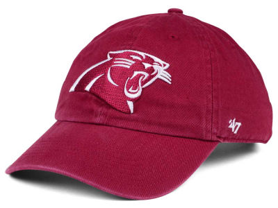 Carolina Panthers '47 NFL Cardinal CLEAN UP Cap