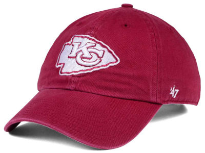 Kansas City Chiefs '47 NFL Cardinal CLEAN UP Cap